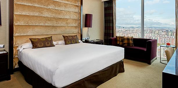 Barcelona Hesperia Tower Room