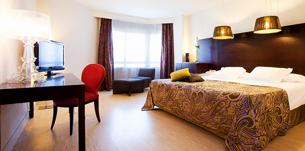 Habitació de l'Hotel Hesperia Sevilla