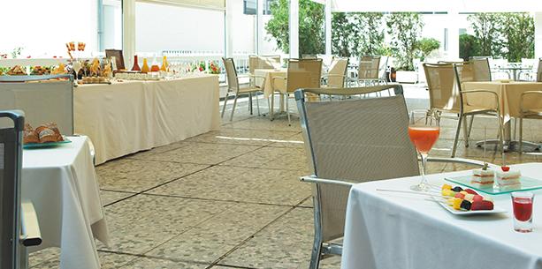Restaurant de l'Hotel Hesperia Sevilla