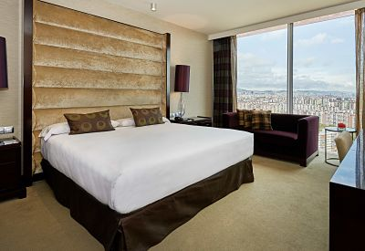 Room Hesperia Tower Hotel Barcelona