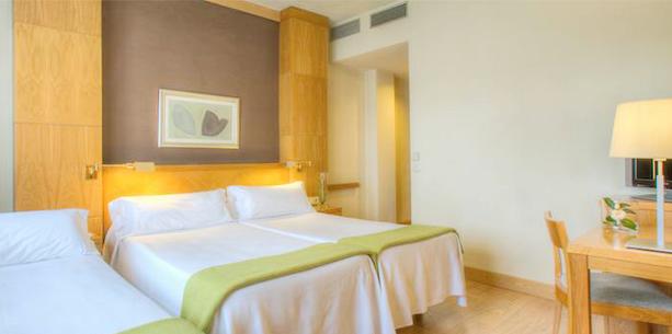 Room Hotel Hesperia Peregrino Santiago