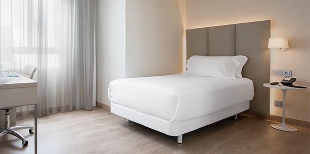 Habitación del Hotel Hesperia Murcia Centro