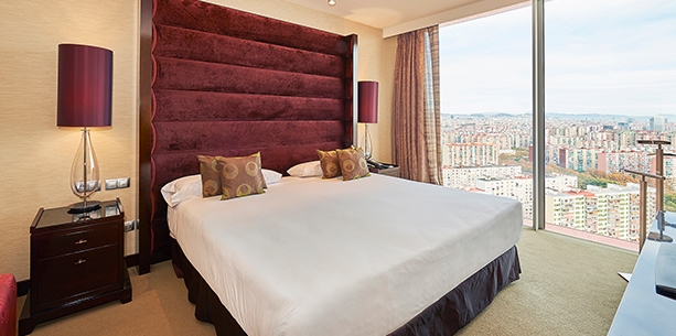 Room Hotel Hesperia Tower Barcelona