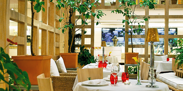 Restaurant de l'Hotel Hesperia Madrid