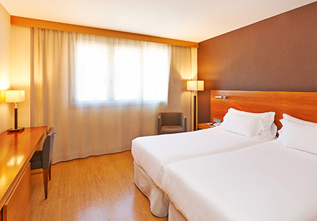 Habitación del Hotel Hesperia Donosti
