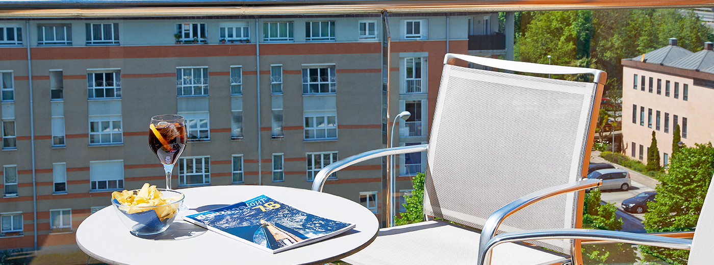 Terraza del Hotel Hesperia Donosti