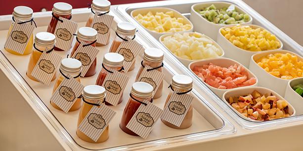 Desayuno del Hotel Hesperia Mallorca Villamil