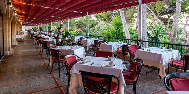 Restaurante Dragonera del Hotel Hesperia Mallorca Villamil