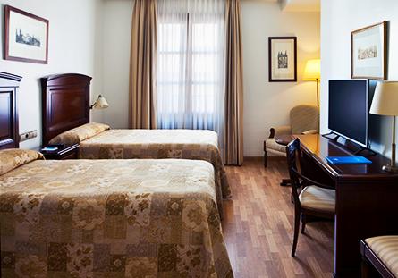 Habitació de l'Hotel Hesperia Granada Centre
