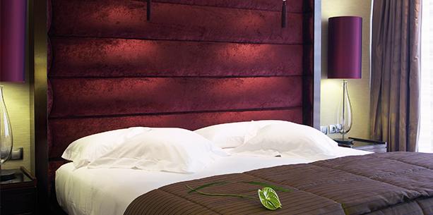 junior suite room Hotel Hesperia Tower Barcelona