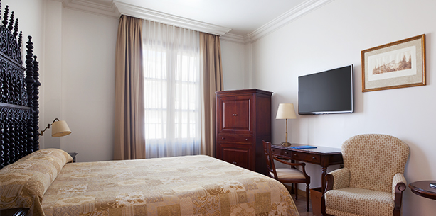 Habitación junior suite del Hotel Hesperia Granada Centro