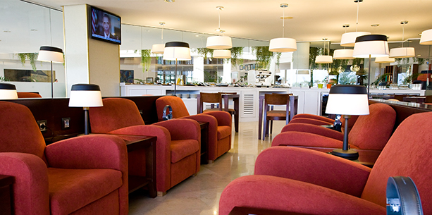 Deluxe VIP Lounge of the Hotel Hesperia Playa Dorada
