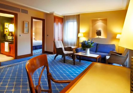 Habitació de l'Hotel Hesperia Madrid