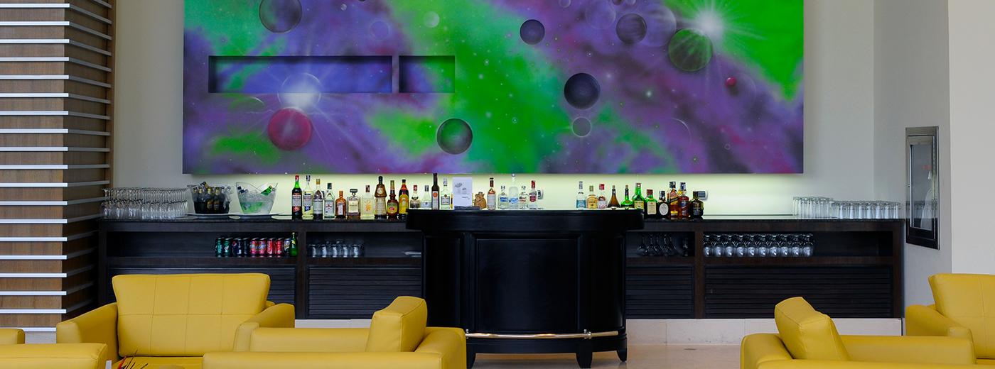 Bar del Hotel Hesperia WTC Valencia