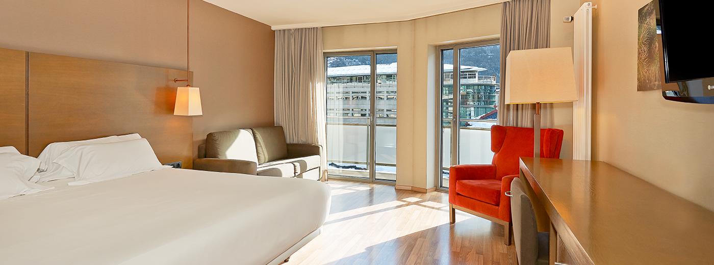 Habitació de l'Hotel Hesperia Andorra la Vella