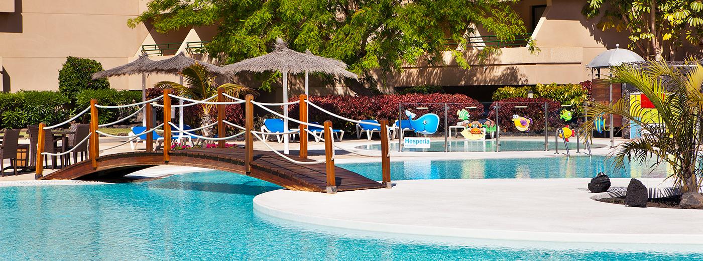 Piscina del Hotel Hesperia Playa Dorada