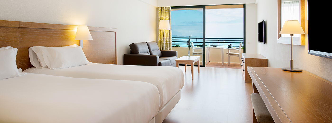 Habitació de l'Hotel Hesperia Playa Dorada