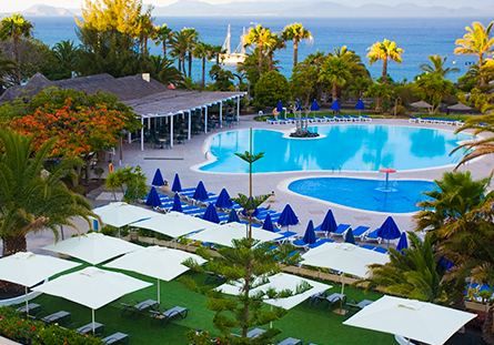 Piscina de l'Hotel Hesperia Playa Dorada