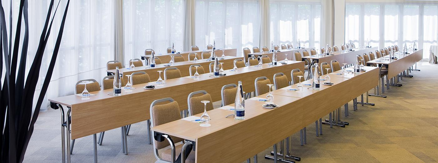 Sala del Hotel Hesperia Barcelona Presidente