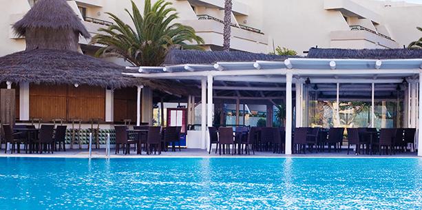 Restaurant Palapa de l'Hotel Hesperia Playa Dorada