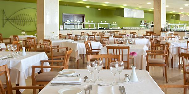 Restaurant Vulcano de l'Hotel Hesperia Lanzarote