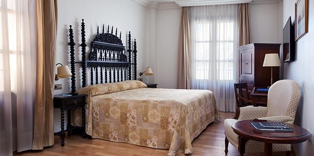 Habitación standard del Hotel Hesperia Granada Centro