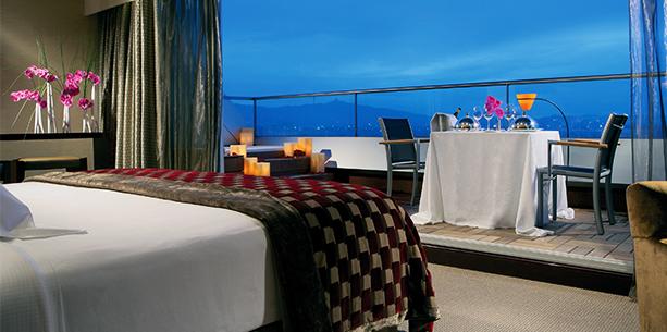 Presidential Suite Room Hotel Hesperia Tower Barcelona