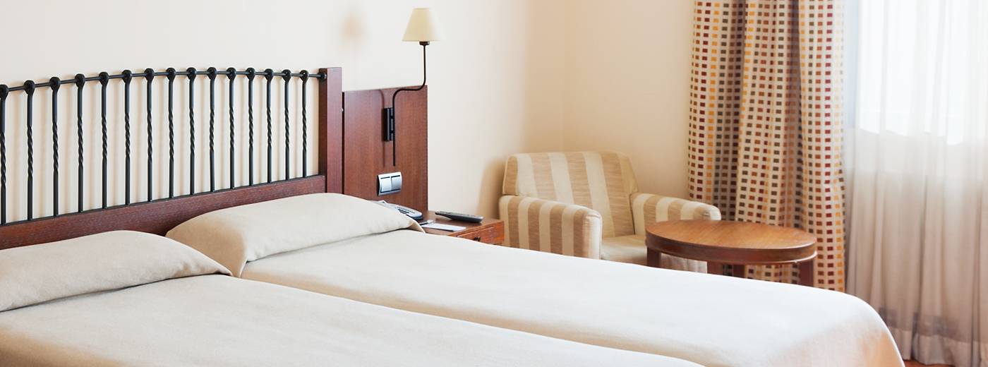 Habitación del Hotel Hesperia Toledo