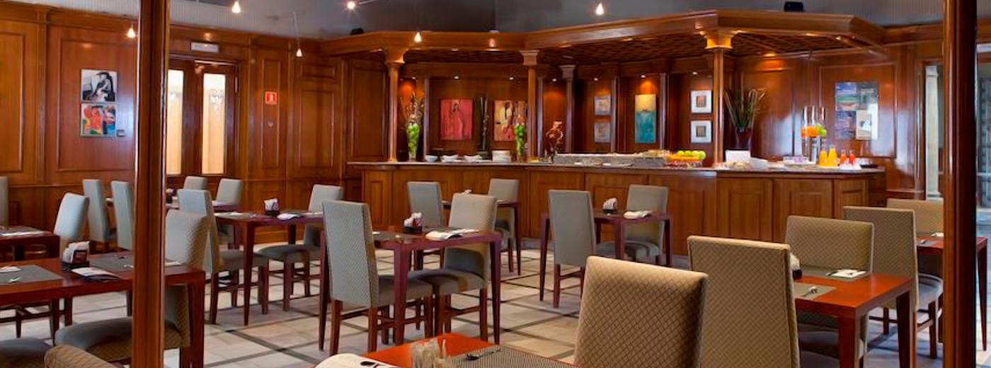 Restaurante del Hotel Hesperia Toledo
