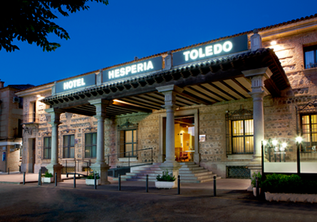 Façana de l'Hotel Hesperia Toledo