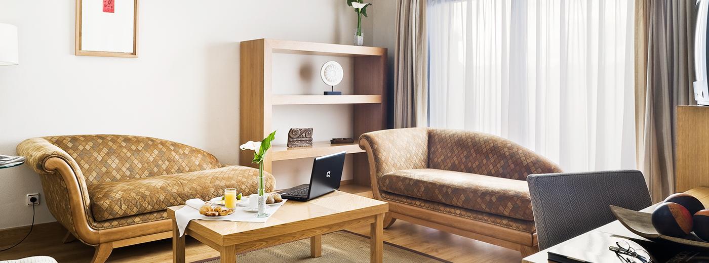 Habitación del Hotel Hesperia Vigo