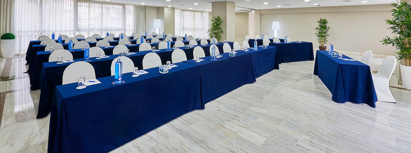 Sala del Hotel Hesperia Vigo