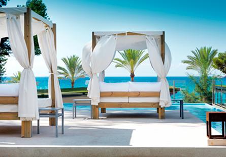 Habitació de l'Hotel Hesperia Mallorca Villamil