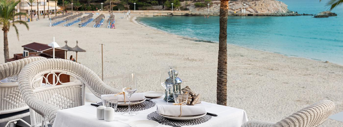 Playa del Hotel Hesperia Mallorca Villamil