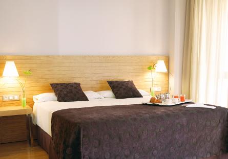 Habitación del Hotel Hesperia Zaragoza Centro
