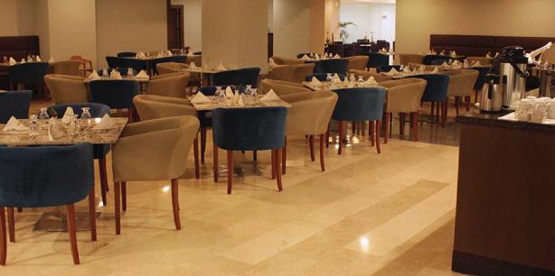 Restaurant de l'Hotel Hesperia Maracay