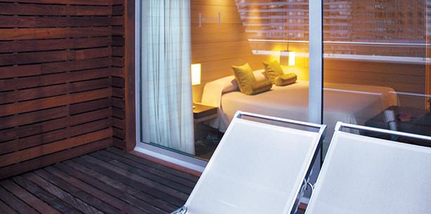 Habitación del Hotel Hesperia Bilbao