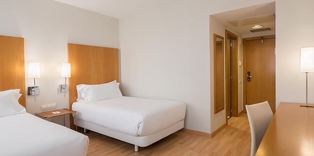 Habitació de l'Hotel Hesperia Barcelona Del Mar