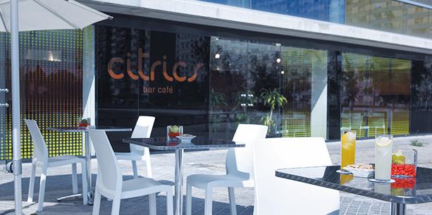 Bar del Hotel Hesperia Barcelona Fira Suites