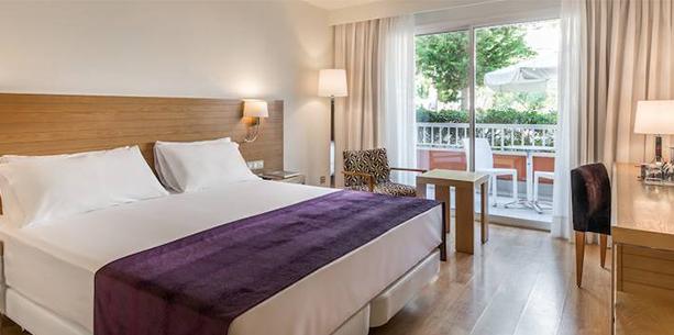 Habitació de l'Hotel Hesperia Ciutat de Mallorca