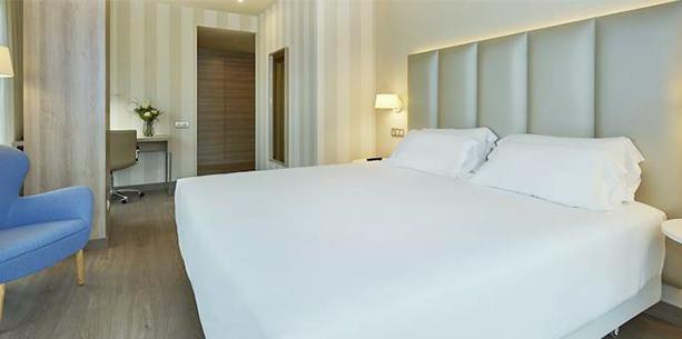 Habitación del Hotel Hesperia A Coruña Centro