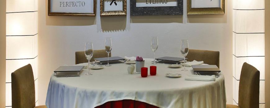 Restaurant de l'Hotel Hesperia Zubialde