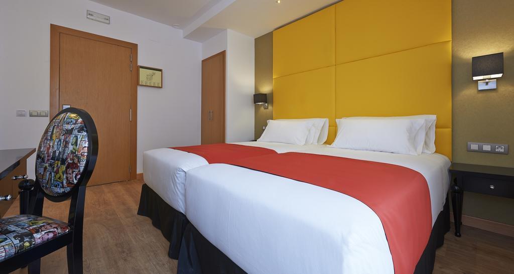 Habitació standard de l'Hotel Hesperia Barcelona Barri Gotic