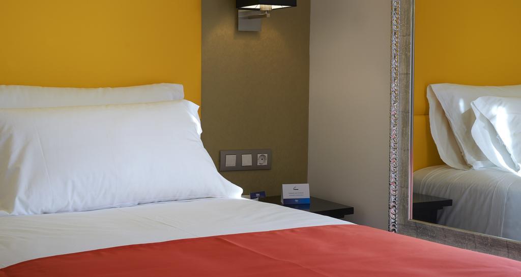 Habitació individual de l'Hotel Hesperia Barri Gòtic