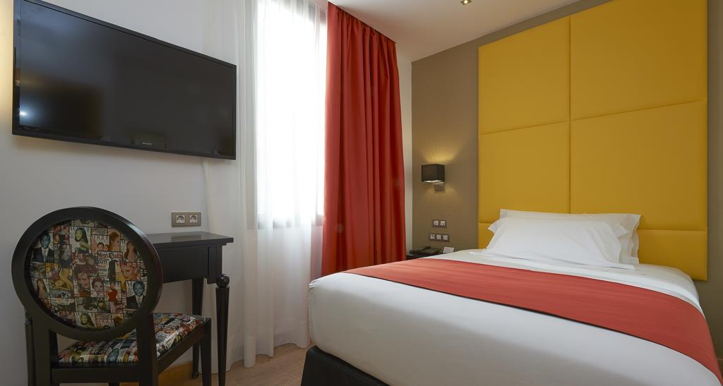 Habitació individual de l'Hotel Hesperia Barcelona Barri Gotic