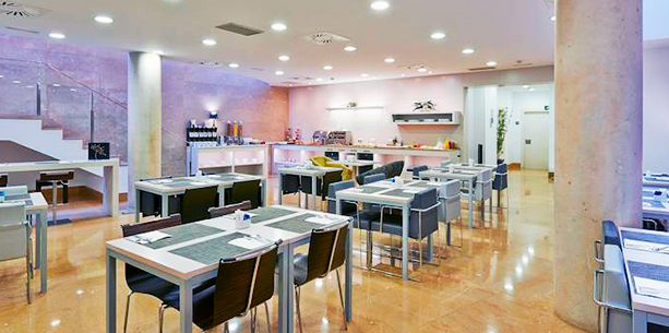 Restaurant de l'Hotel Barcelona Ramblas