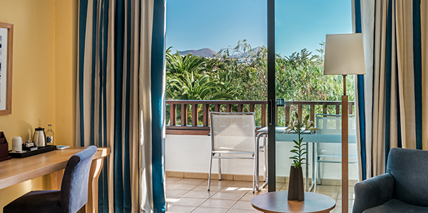 Habitación del Hotel Hesperia Lanzarote