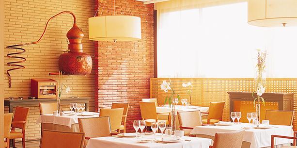 Restaurante del Hotel Hesperia Sant Just