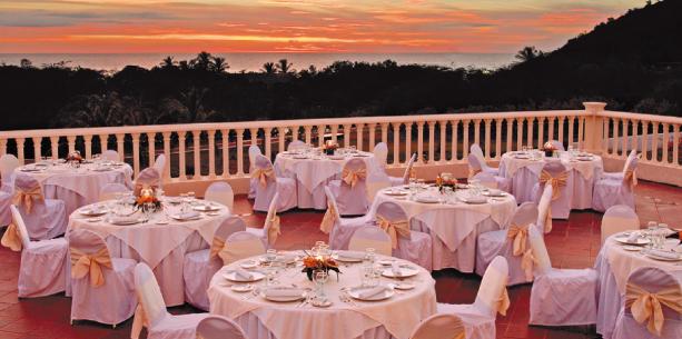Restaurant de l'Hotel Hesperia Isla de Margarita