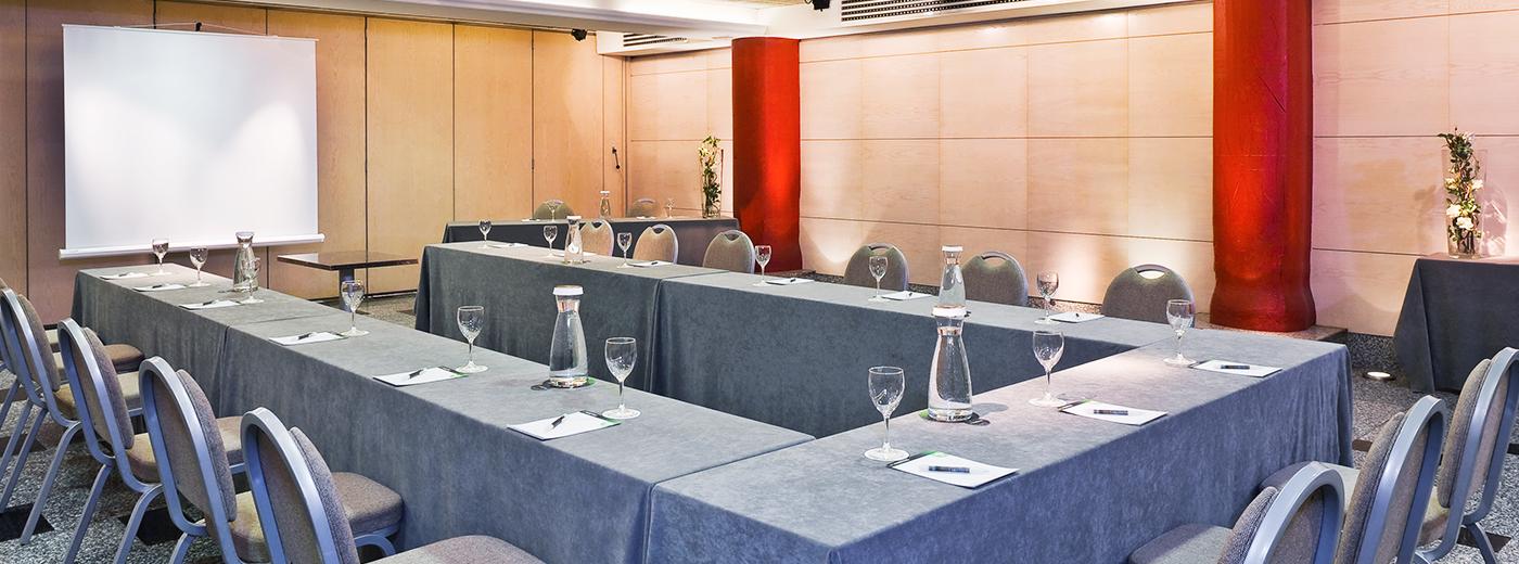 Sala del Hotel Hesperia A Coruña Centro